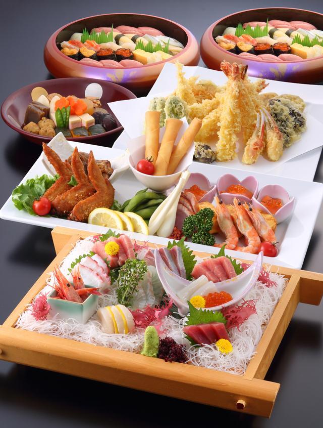セット料理 富士